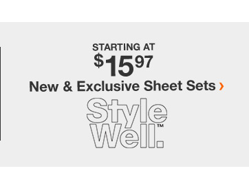 New & Exclusive Sheet Sets