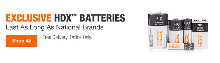 EXCLUSIVE HDX BATTERIES