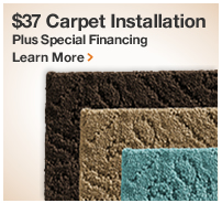 $37 CARPET INSTALLATION