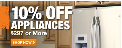 10% OFF APPLIANCES
