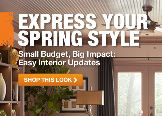 Express your Spring Style: Small budget, big impact: Easy Interior Updates