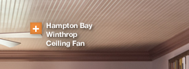 Hamptop Bay Winthrop Ceiling Fan