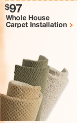 Whole House Carpet Installation