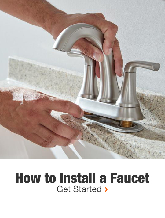 How to Install a Faucet