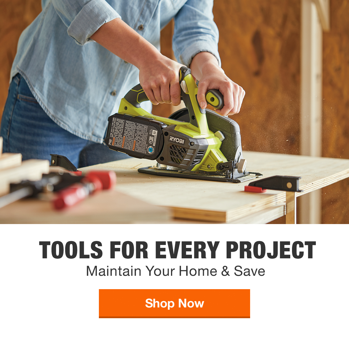 TOOLS FOR EVERY PROJECT