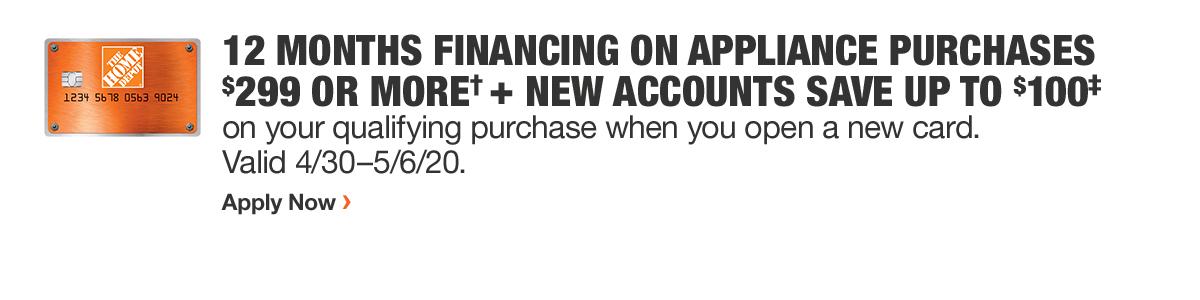 12 Months Financing