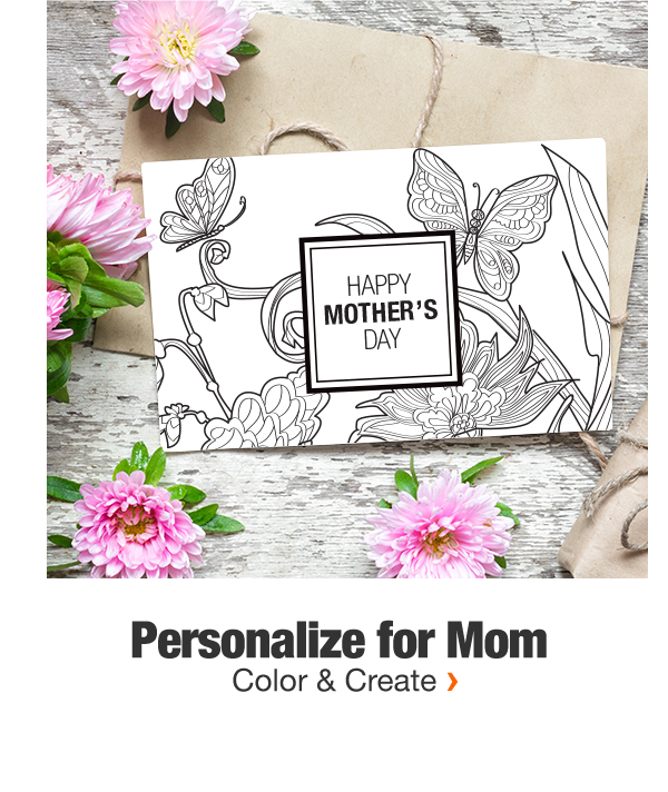 Personalize for Mom