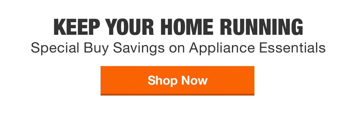 Special Buy Savings on Appliance Essentials
