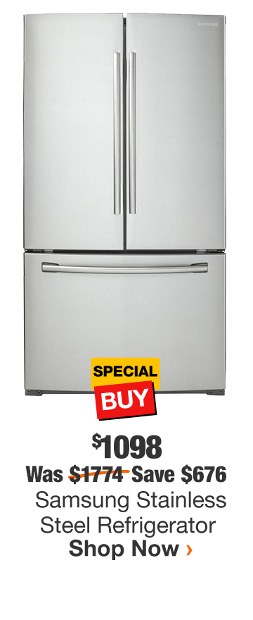 Samsung Stainless Steel Refrigerator