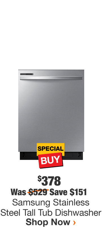 Samsung Stainless Steel Tall Tub Dishwasher