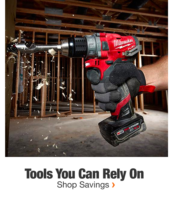 Tools You Can Rely On