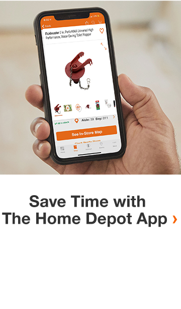 Save Time with The Home Depot App